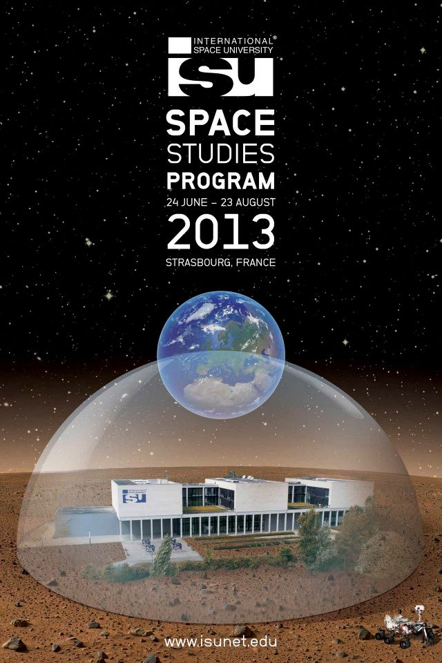 ISU SSP13 Poster. Credit: International Space University