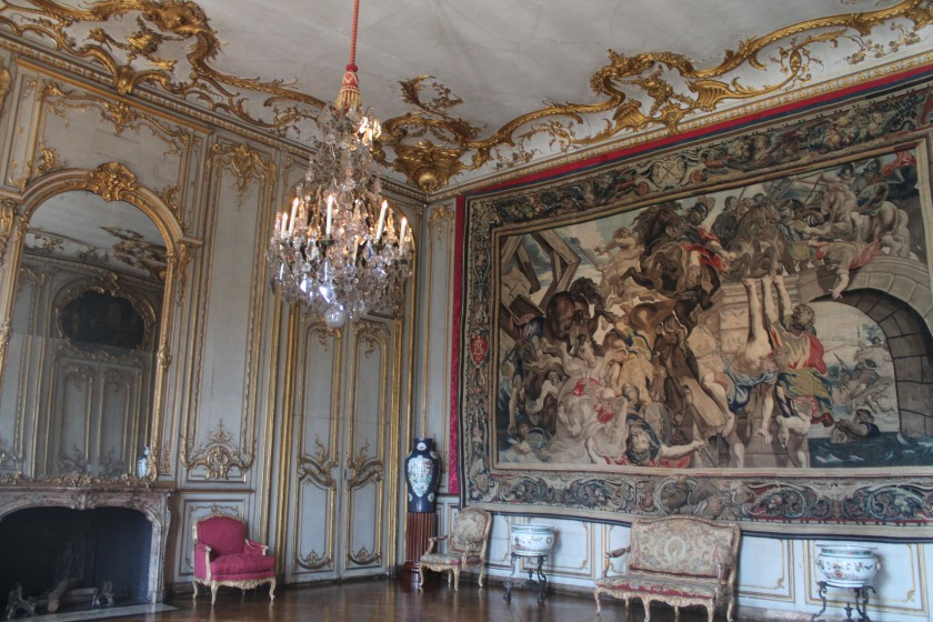 Inside Palais Rohan, Strasbourg