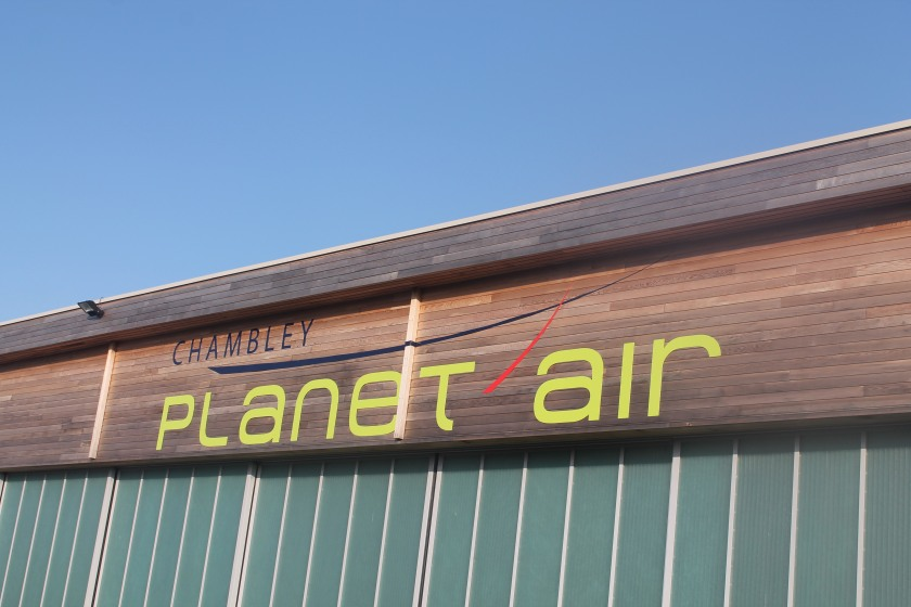 Chambley aerodrome sign