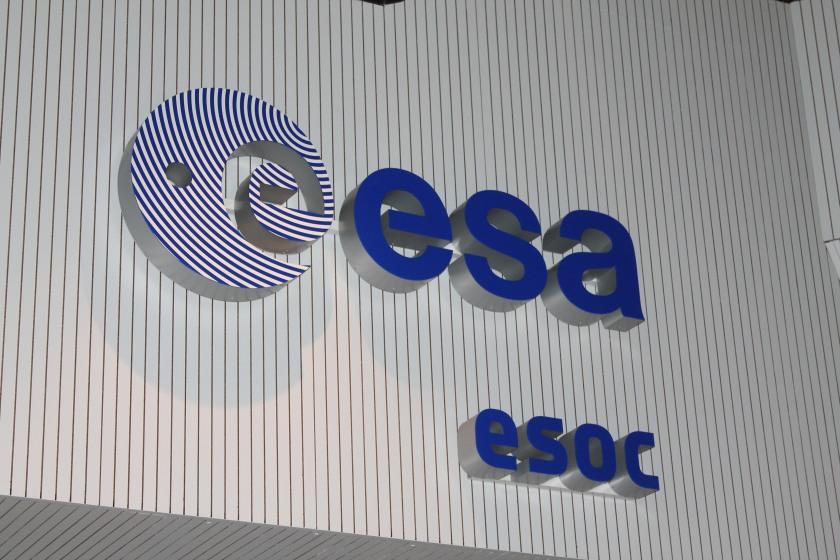 Classic ESOC sign