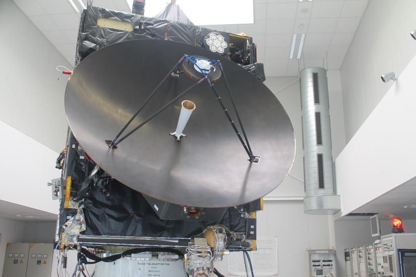 Rosetta full-size model at ESOC