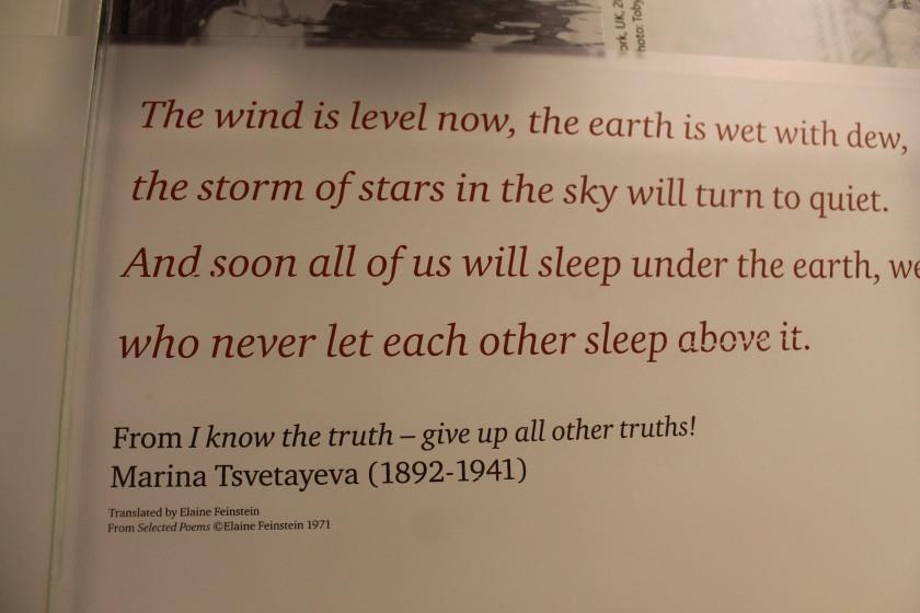 Wonderful quote I found at the British Museum