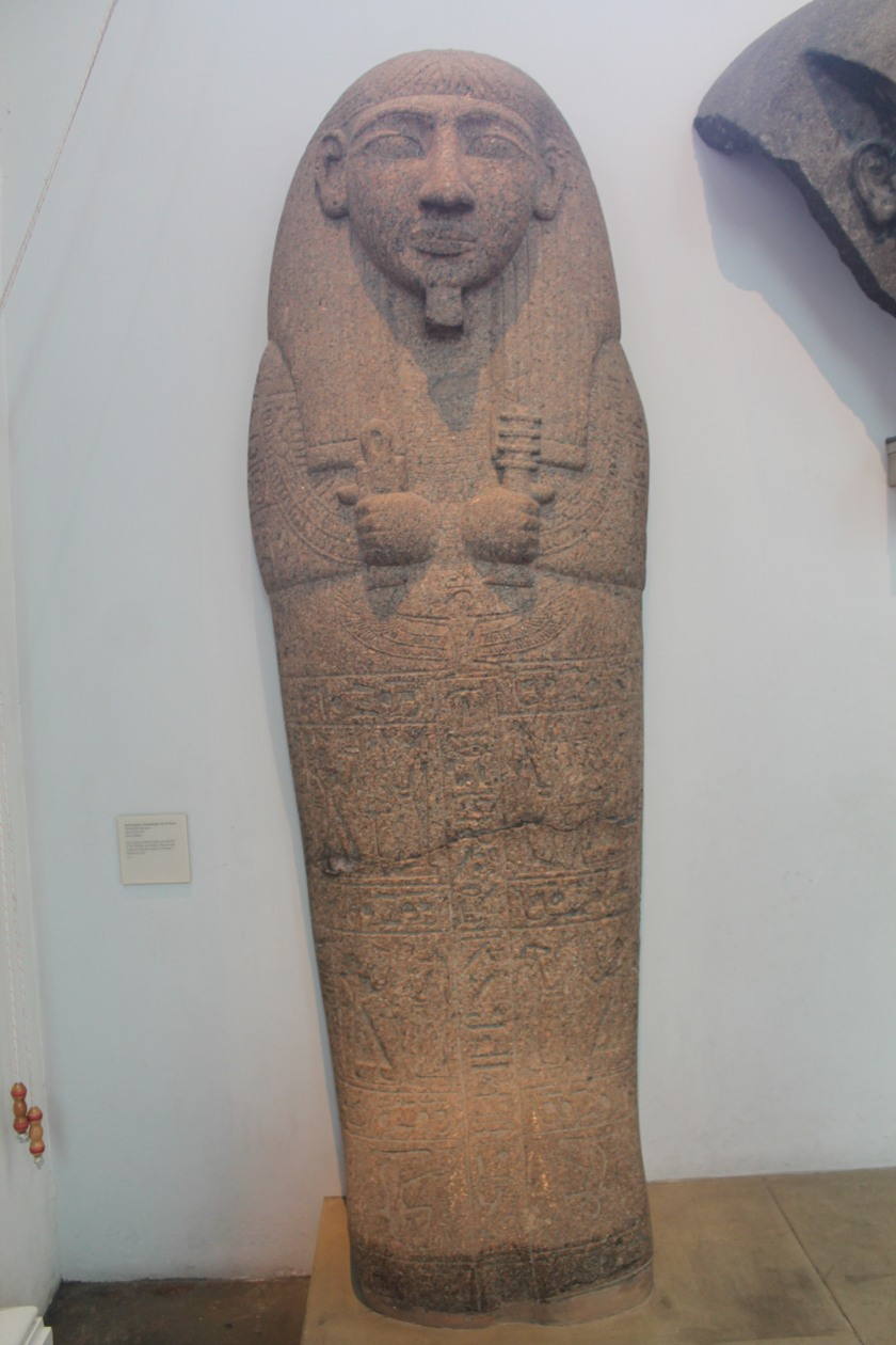 An Egyptian tomb at the British Museum